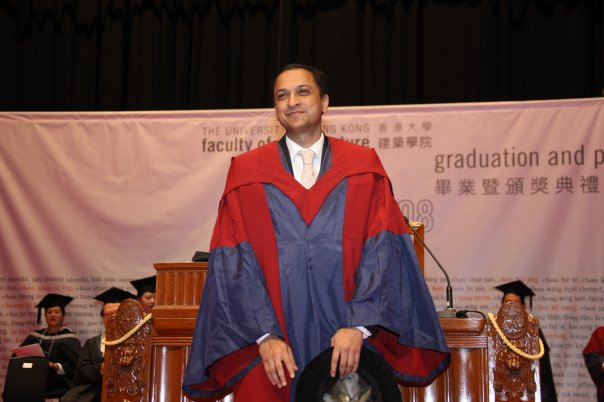 PhD Graduation from the University of Hong Kong, a proud moment.